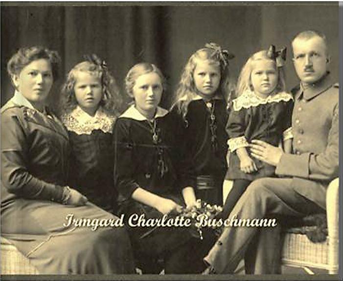 Bildbiographie Beispiel Irmgard Charlotte Buschmann
