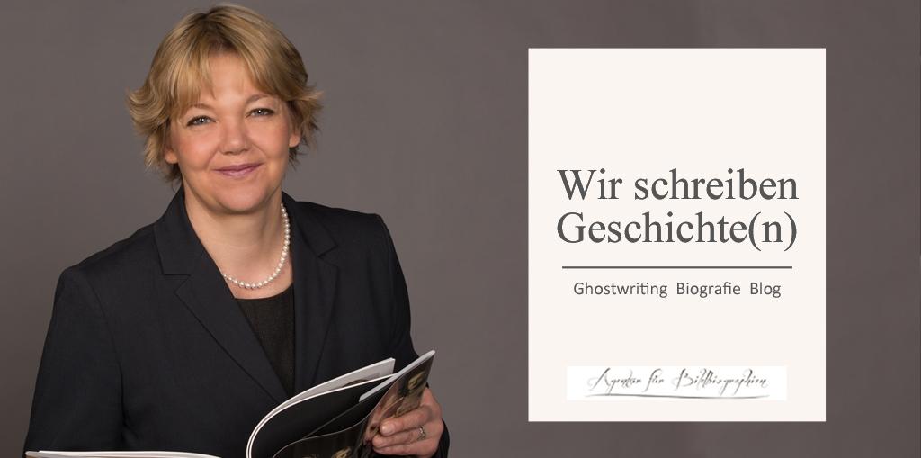 Ghostwriting Biografie und Blog